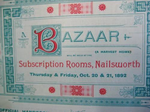 Bazar brochure