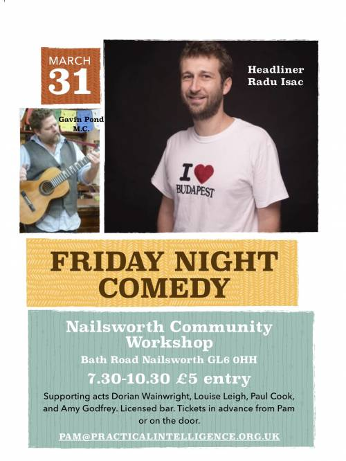 Friday night comedy poster