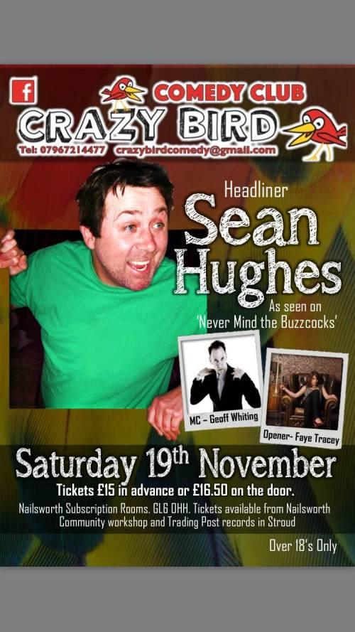 Sean Hughes comedy