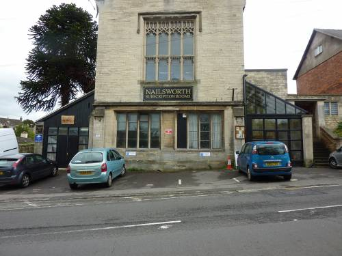 new frontage of building