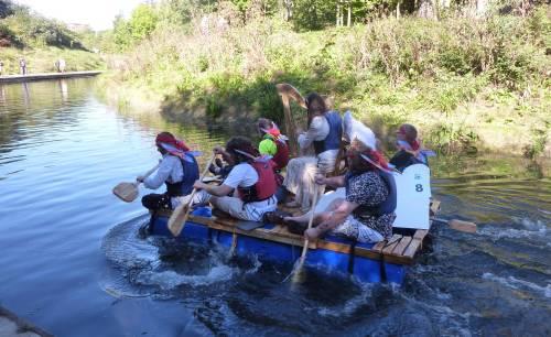 Stroud Raft Race
