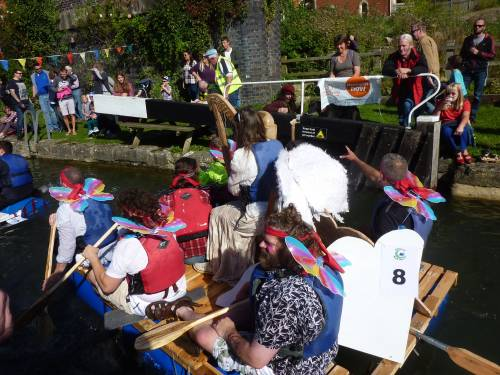 Stroud Raft Race 2016